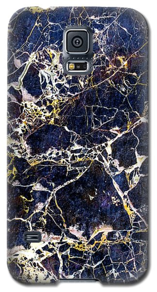 Marble Stone Texture Wall Tile Galaxy S5 Case by John Williams