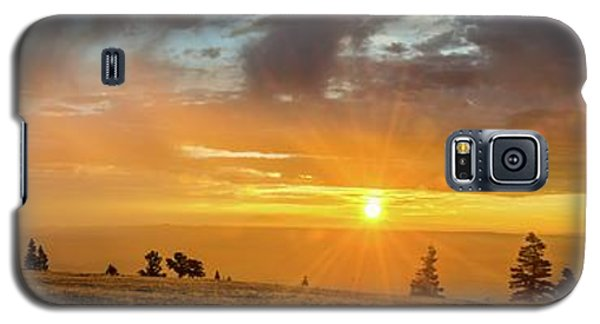 Marble View Sunrays Galaxy S5 Case