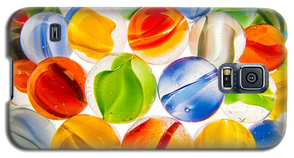 Galaxy S5 Case featuring the photograph Marbles 3 by Jim Hughes