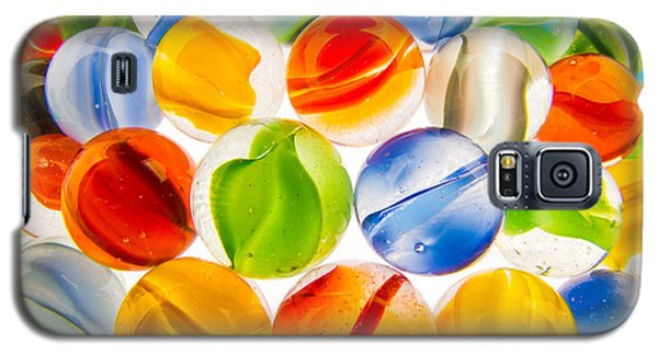Marbles 3 Galaxy S5 Case by Jim Hughes