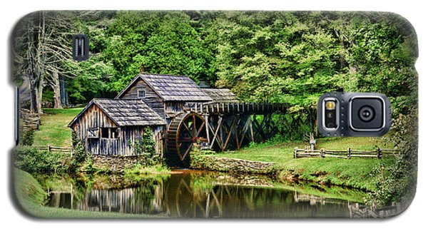 Galaxy S5 Case featuring the photograph Marby Mill Landscape by Paul Ward