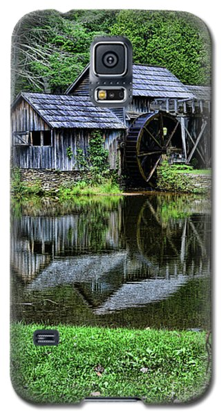 Galaxy S5 Case featuring the photograph Marby Mill Reflection by Paul Ward