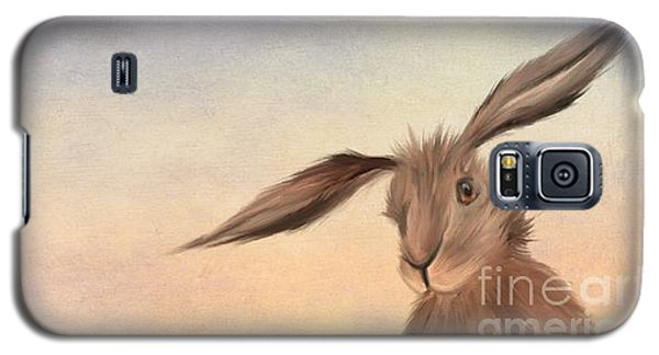 Rabbit Galaxy S5 Case - March Hare by John Edwards