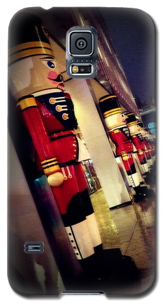Galaxy S5 Case featuring the photograph March Of The Wooden Soldiers by Eleanor Abramson