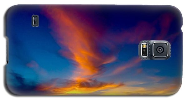 Sunset March 31, 2018 Galaxy S5 Case