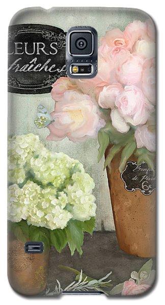 Marche Aux Fleurs 2 - Peonies N Hydrangeas Galaxy S5 Case