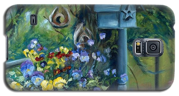 Marcia's Garden Galaxy S5 Case by Donna Tuten