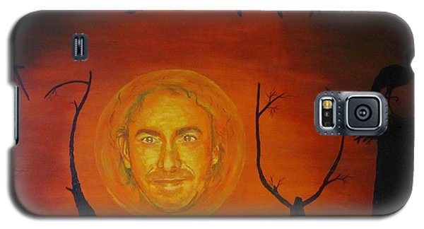Galaxy S5 Case featuring the painting Marco Borsato by Jeepee Aero