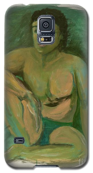 Galaxy S5 Case featuring the drawing Marco by Paul McKey