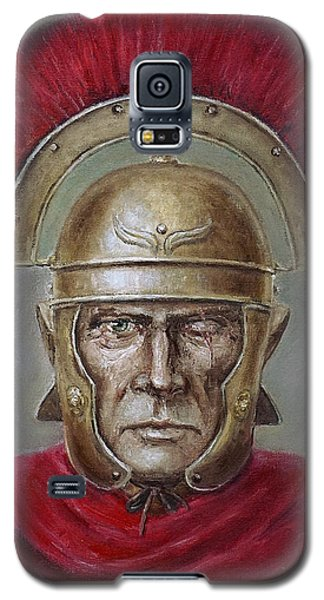 Marcus Cassius Scaeva Galaxy S5 Case by Arturas Slapsys