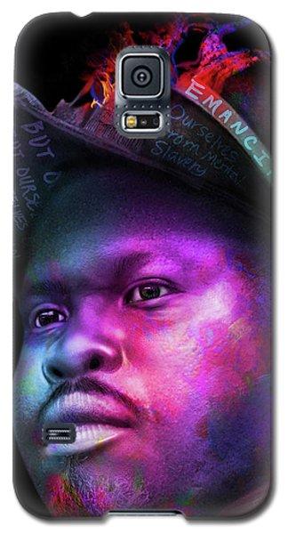 Marcus Garvey Portrait Galaxy S5 Case
