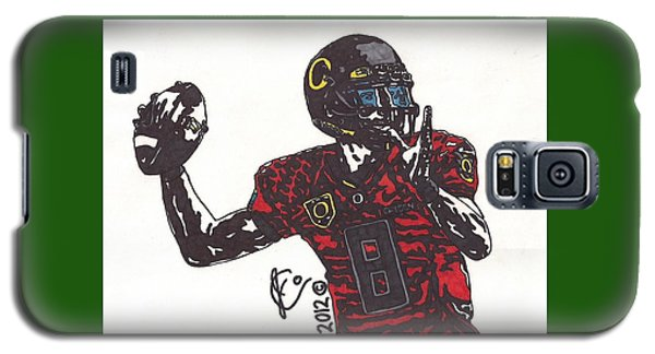 Marcus Mariota 1 Galaxy S5 Case by Jeremiah Colley