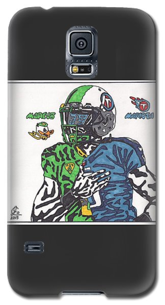 Marcus Mariota Crossover Galaxy S5 Case by Jeremiah Colley