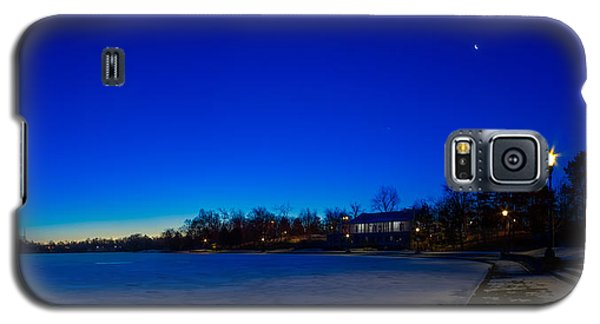 Marcy Casino Winter Twilight Galaxy S5 Case by Chris Bordeleau