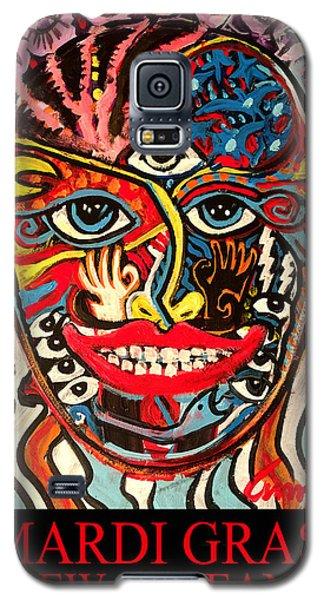 Mardi Gras 2018 Galaxy S5 Case