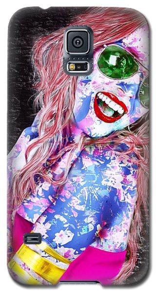 Mardi Gras Lady Galaxy S5 Case