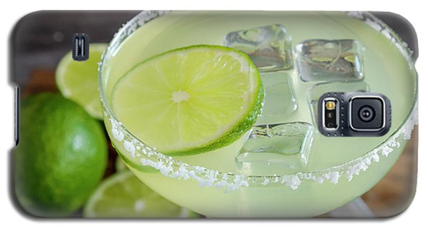Galaxy S5 Case featuring the photograph Margarita Close Up by Teri Virbickis
