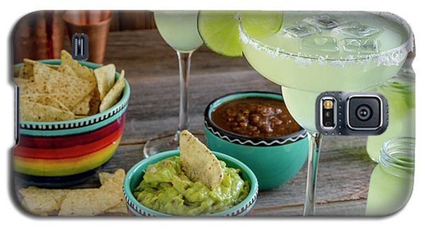 Galaxy S5 Case featuring the photograph Margarita Party by Teri Virbickis