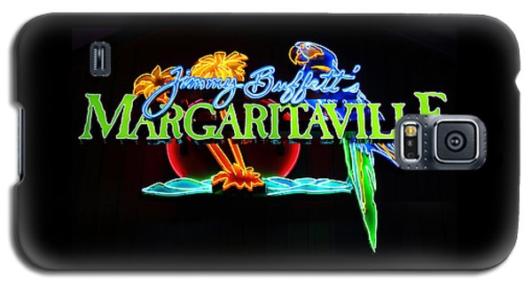 Margaritaville Neon Galaxy S5 Case