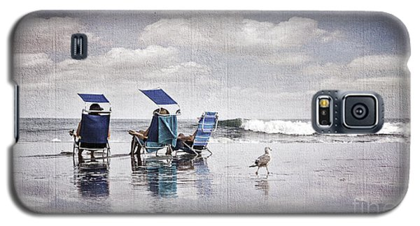 Margate Beach Relaxation Galaxy S5 Case