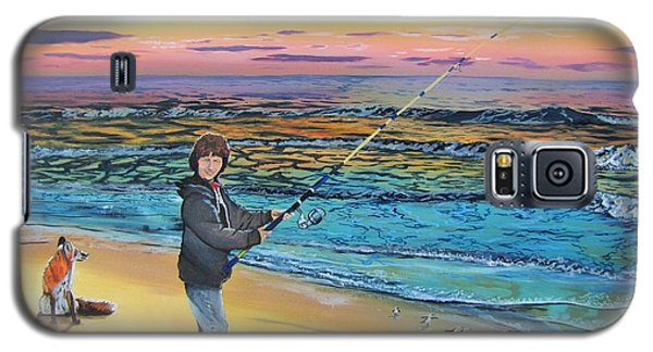 Galaxy S5 Case featuring the painting Maria Mae by Kevin F Heuman