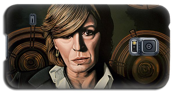 Musicians Galaxy S5 Case - Marianne Faithfull Painting by Paul Meijering
