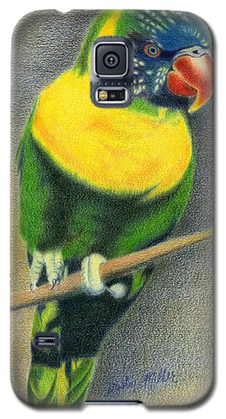 Marigold Lorikeet Galaxy S5 Case