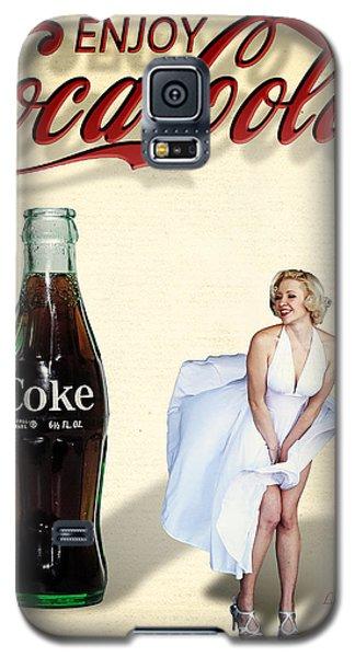 Marilyn Coca Cola Girl 3 Galaxy S5 Case