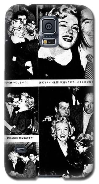 Marilyn Monroe And Joe Dimaggio 1950s Photos By Unknown Japanese Photographer Galaxy S5 Case