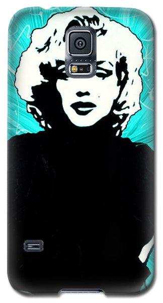 Marilyn Monroe Blue Green Aqua Tint Galaxy S5 Case
