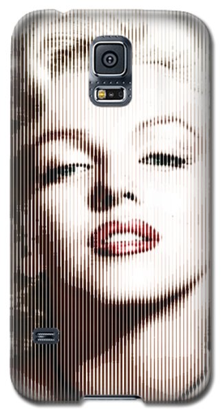 Marilyn Monroe - Colored Verticals Galaxy S5 Case