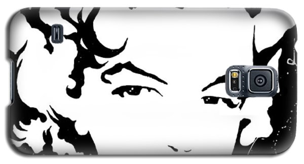 Marilyn Monroe Galaxy S5 Case by Curtiss Shaffer