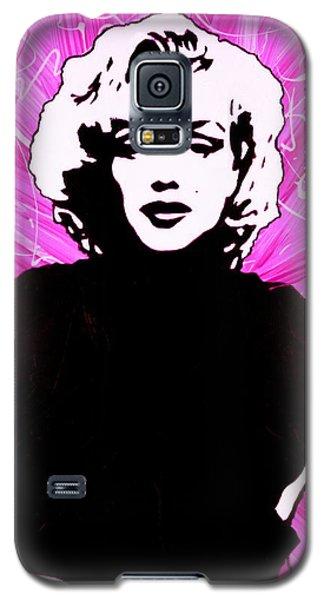 Marilyn Monroe In Hot Pink Galaxy S5 Case