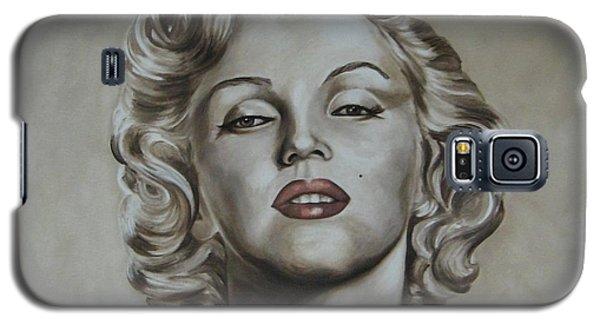 Marilyn Monroe Galaxy S5 Case by Jindra Noewi