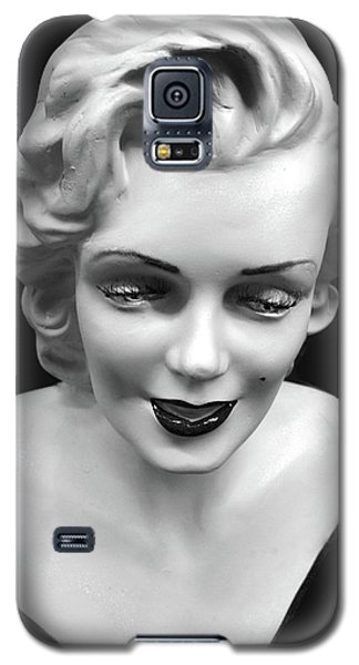 Galaxy S5 Case featuring the photograph Marilyn Monroe by JoAnn Lense