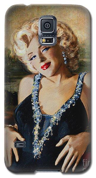 Marilyn Monroe  Mona Lisa  Galaxy S5 Case