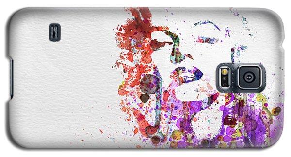 Celebrities Galaxy S5 Cases - Marilyn Monroe Galaxy S5 Case by Naxart Studio