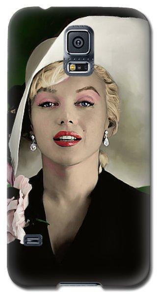Actors Galaxy S5 Case - Marilyn Monroe by Paul Tagliamonte