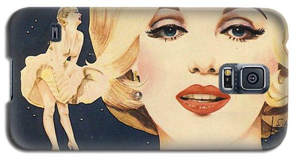 Marilyn Monroe Stamp Galaxy S5 Case
