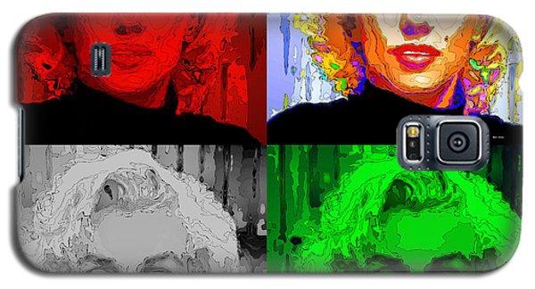 Marilyn Monroe - Quad. Pop Art Galaxy S5 Case
