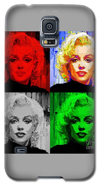 Marilyn Monroe - Quad. Pop Art Galaxy S5 Case