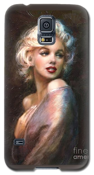 Portraits Galaxy S5 Case - Marilyn Romantic Ww 1 by Theo Danella