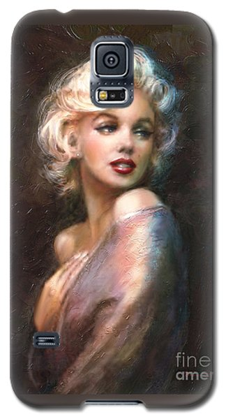 Actors Galaxy S5 Case - Marilyn Romantic Ww 1 by Theo Danella