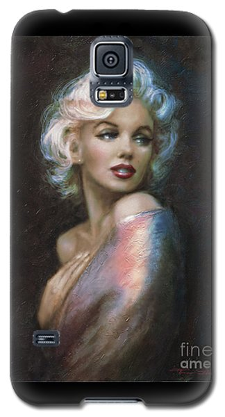 Marilyn Romantic Ww 4 Blue Galaxy S5 Case