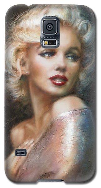 Marilyn Ww Soft Galaxy S5 Case