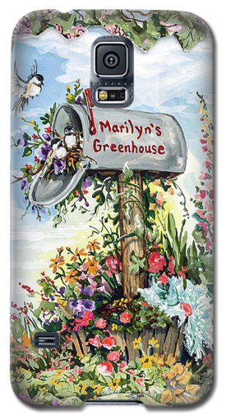 Marilyn's Greenhouse Galaxy S5 Case