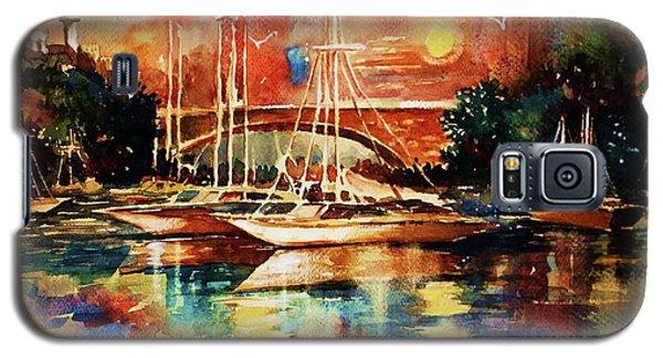 Marina Galaxy S5 Case by Al Brown