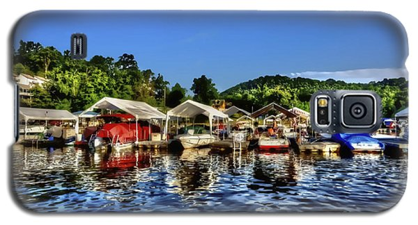 Marina At Cheat Lake Clear Day Galaxy S5 Case