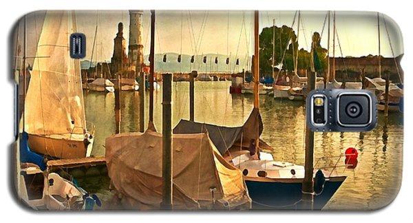 Marina At Golden Light - Digital Paint Galaxy S5 Case