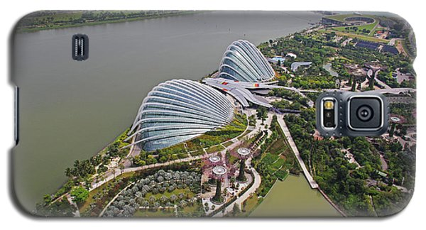 Marina Bay Sands Flower Garden And Park Galaxy S5 Case